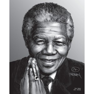Mandela Limited Edition Print nr. 3