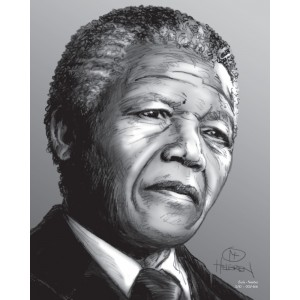 Mandela Limited Edition Print nr. 5