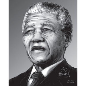 Mandela Limited Edition Print nr. 6