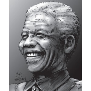 Mandela Limited Edition Print nr. 7