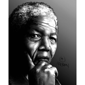 Mandela Limited Edition Print nr. 8